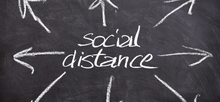Be a humanitarian while social distancing