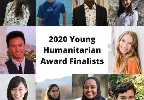 2020 Young Humanitarian Award Finalist
