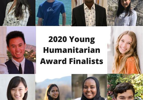 2020 Young Humanitarian Award Finalist