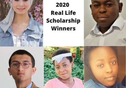 2020 Real Life Scholarship Finalist