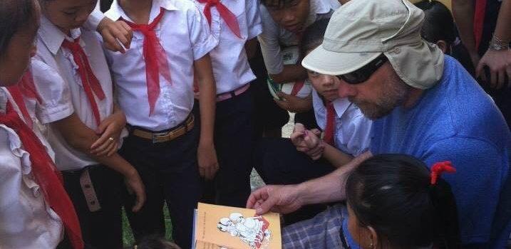 Glen Bowen in Vietnam